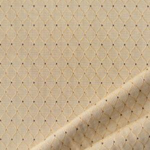tessuto rasato rombo smeraldo colore beige chiaro