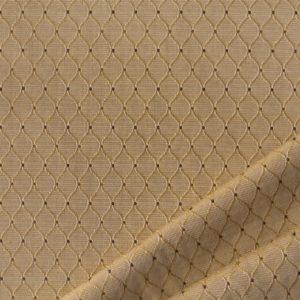 tessuto rasato rombo smeraldo colore biscotto chiaro