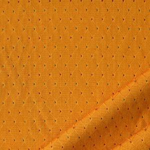 tessuto rasato rombo smeraldo colore aranciato