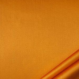 tessuto rasato unito smeraldo colore aranciato