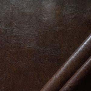 finta pelle effetto cuoio ignifugo classe 1 mx ramon colore testa di moro