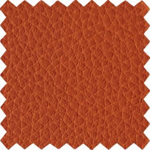 finta pelle effetto goffrato ignifuga classe 1 e california test mx suez colore arancio