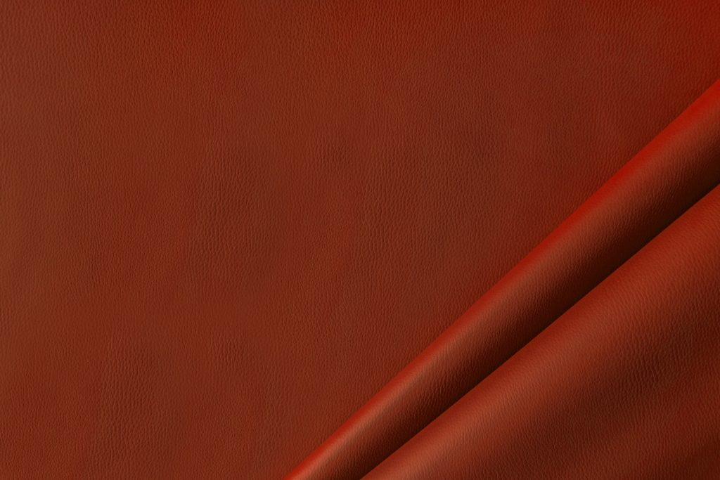 finta pelle liscia ignifuga classe 1 mx lapelle colore arancio