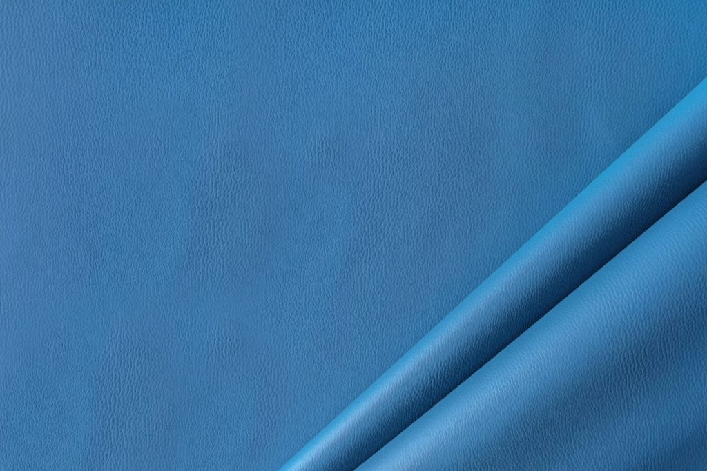 finta pelle liscia ignifuga classe 1 mx lapelle colore azzurro