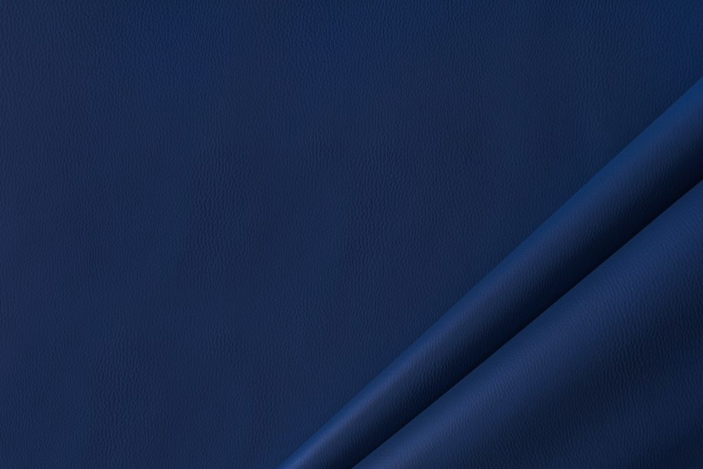 finta pelle liscia ignifuga classe 1 mx lapelle colore blu