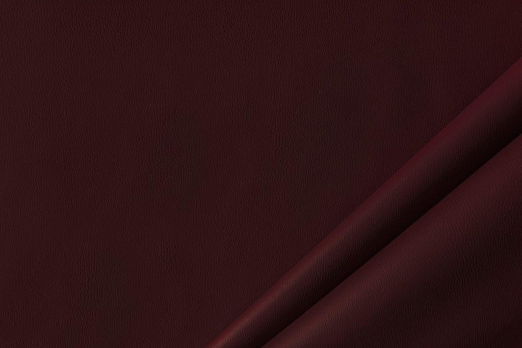 finta pelle liscia ignifuga classe 1 mx lapelle colore bordeaux