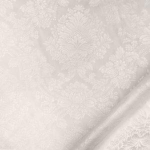 tessuto elegante damascato mx ronda colore bianco