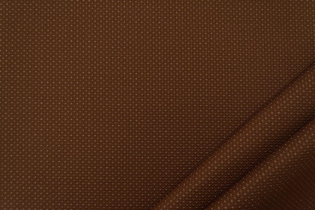 tessuto elegante puntinato mx supreme colore marrone