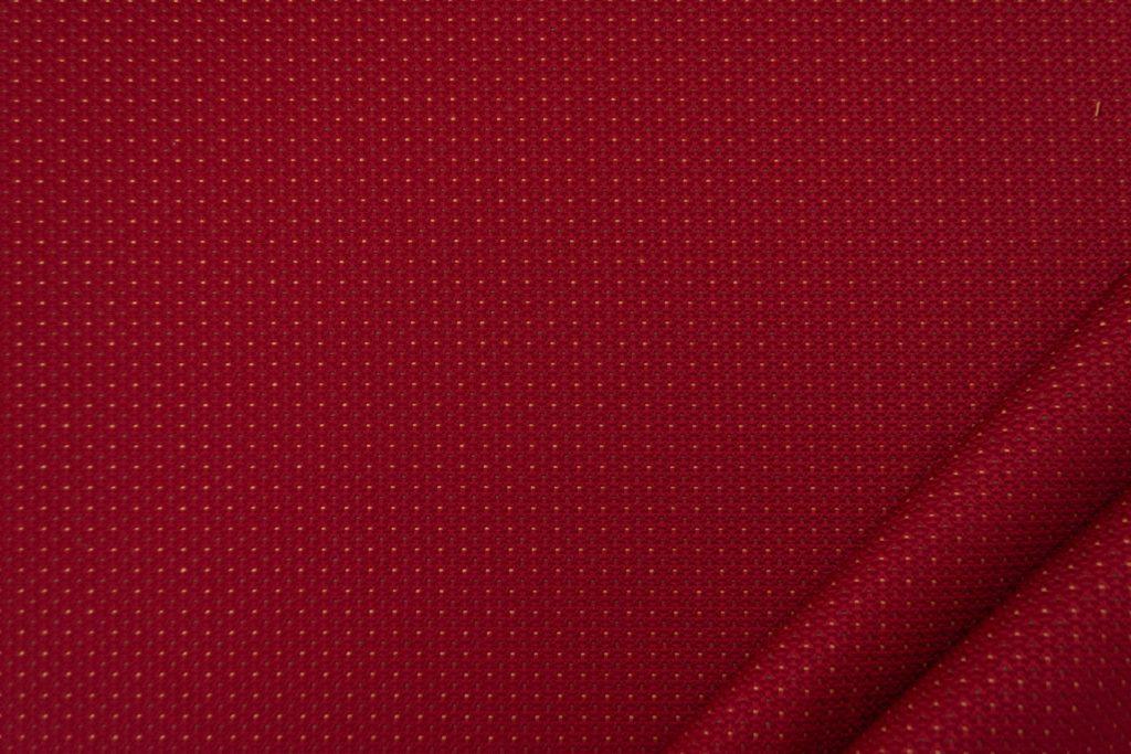 tessuto elegante puntinato mx supreme colore bordeaux