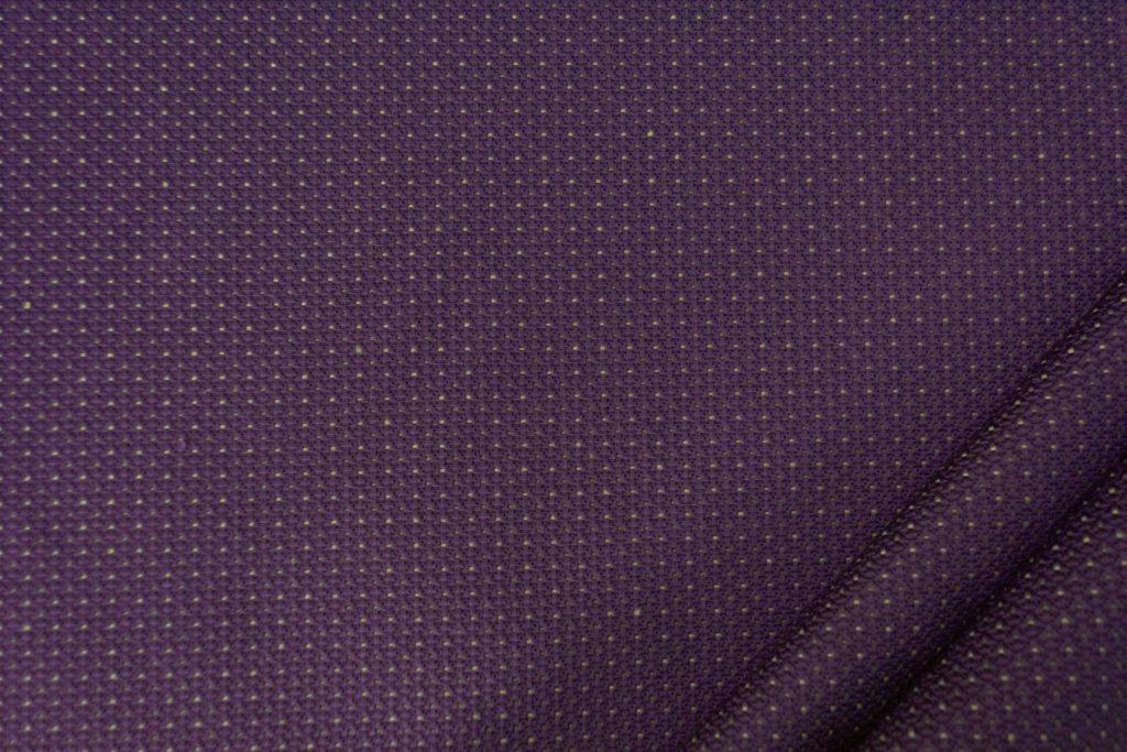 tessuto elegante puntinato mx supreme colore prugna