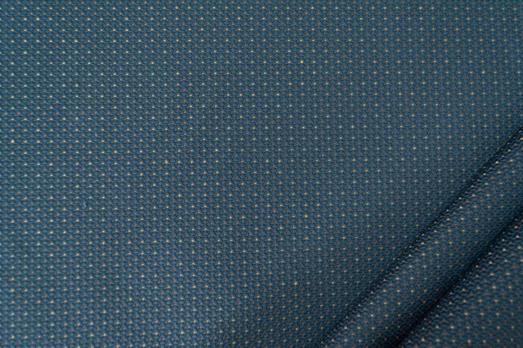 tessuto elegante puntinato mx supreme colore blu