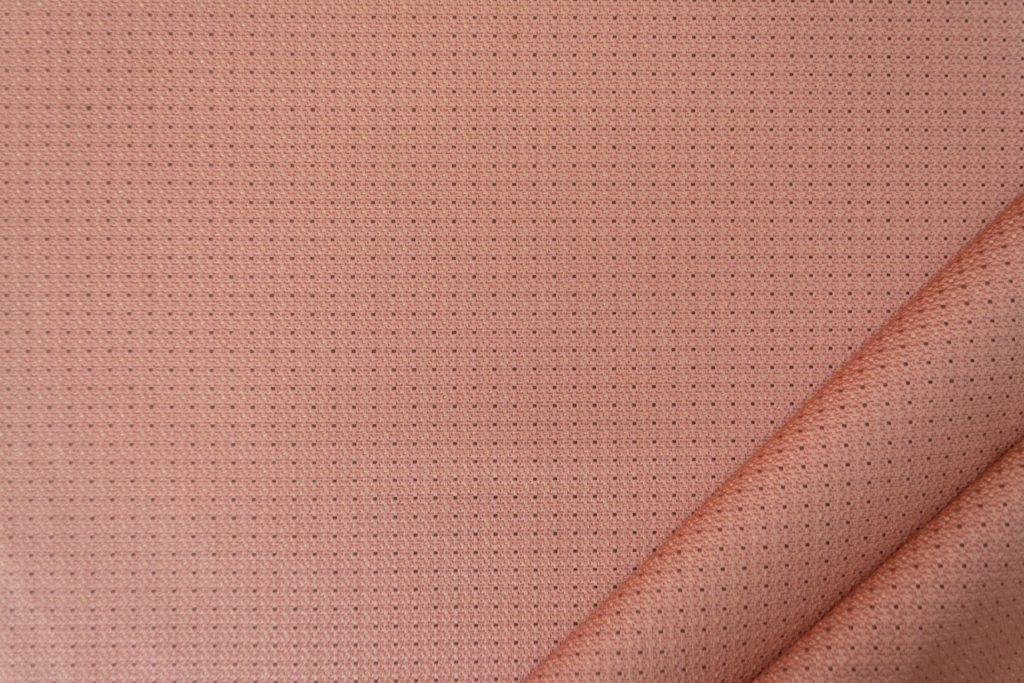 tessuto elegante puntinato mx supreme colore rosa antico