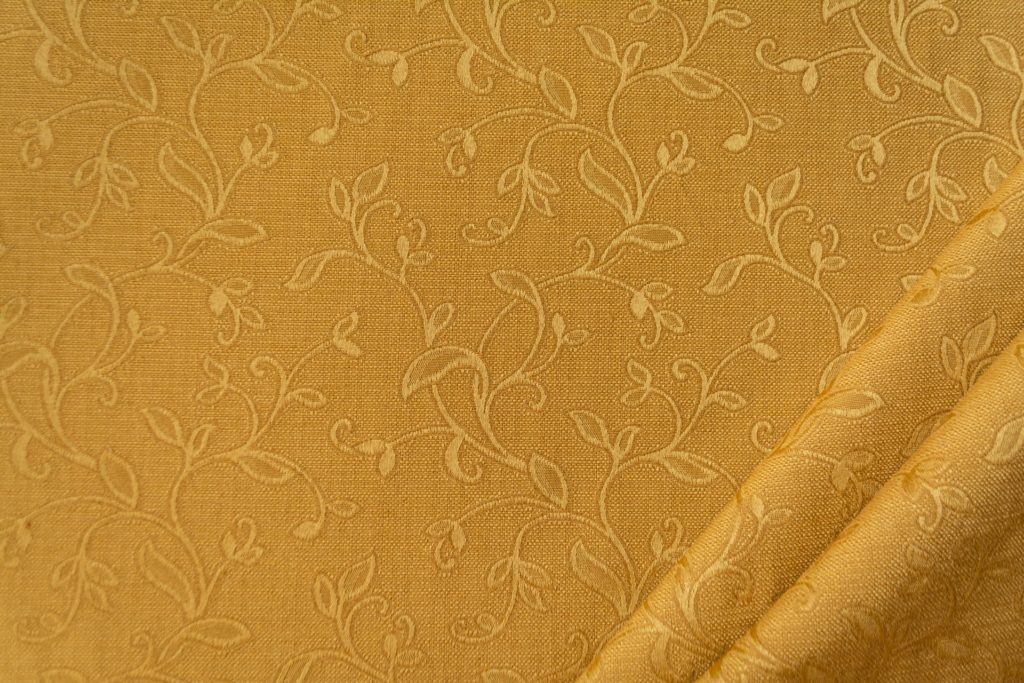 tessuto elegante ramage mx supreme colore oro antico