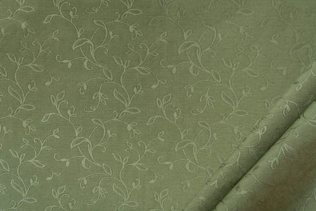 tessuto elegante ramage mx supreme colore verde