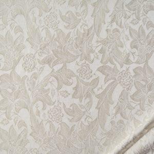 tessuto elegante rasato ramage trattamento antimacchia mx picasso avorio