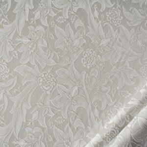 tessuto elegante rasato ramage trattamento antimacchia mx picasso grigio perla