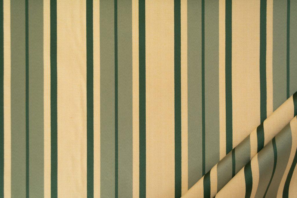 tessuto elegante riga gramde mx supreme colore beige e verde