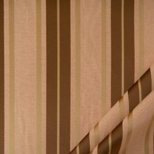 tessuto elegante riga gramde mx supreme colore rosa antico e oro antico