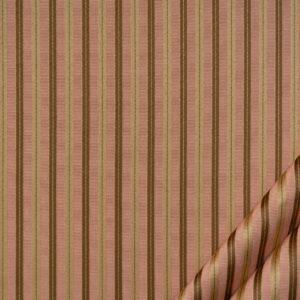 tessuto elegante riga piccola mx supreme colore rosa antico e oro antico