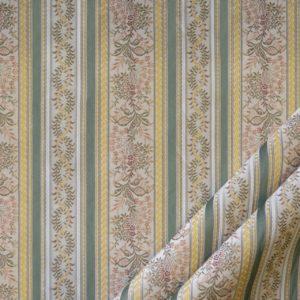 tessuto elegante rigato mx lisere colore verde
