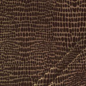tessuto in ciniglia maculato mx taylor colore marrone