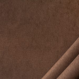 tessuto in microfibra bamby colore marrone