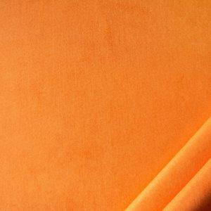 tessuto in microfibra bamby colore arancio
