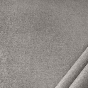 tessuto in microfibra dumbo colore grigio chiaro