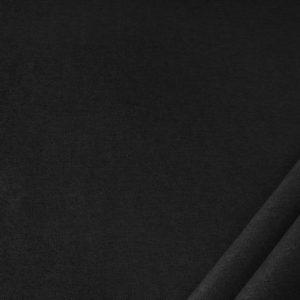 tessuto in microfibra dumbo colore nero