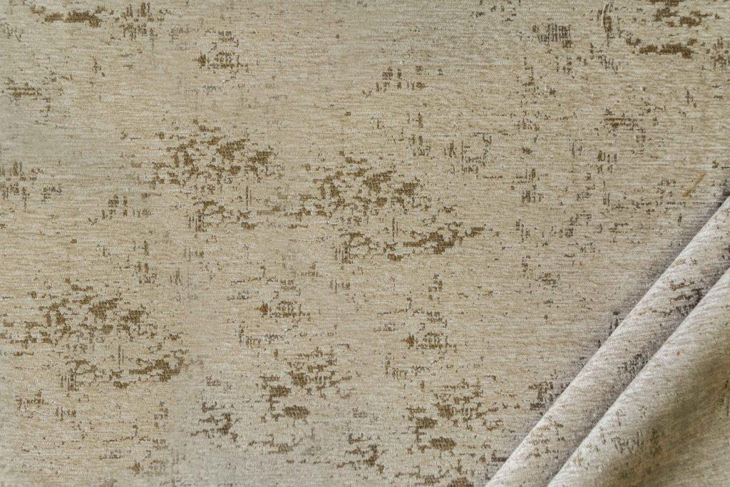 tessuto in microfibra graffiti colore beige scuro