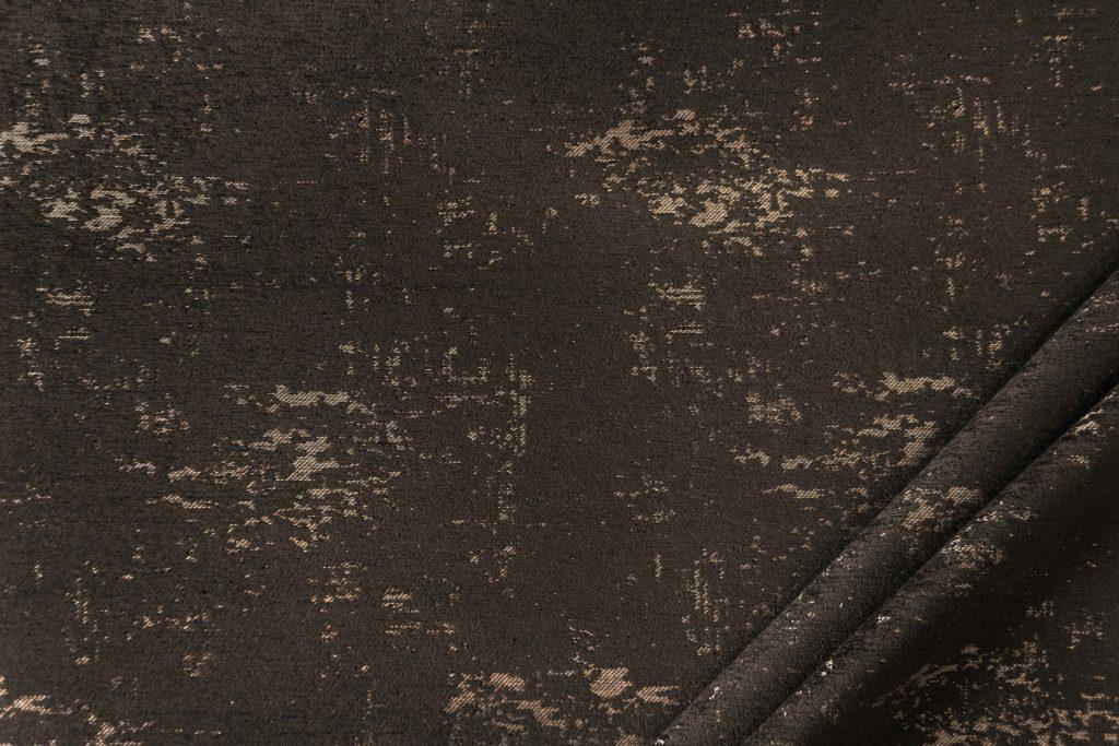 tessuto in microfibra graffiti colore espresso