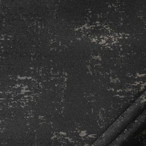 tessuto in microfibra graffiti colore tortora