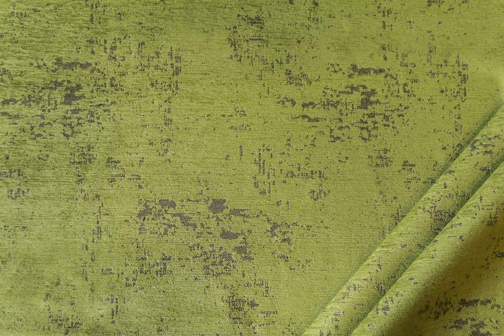 tessuto in microfibra graffiti colore pistacchio