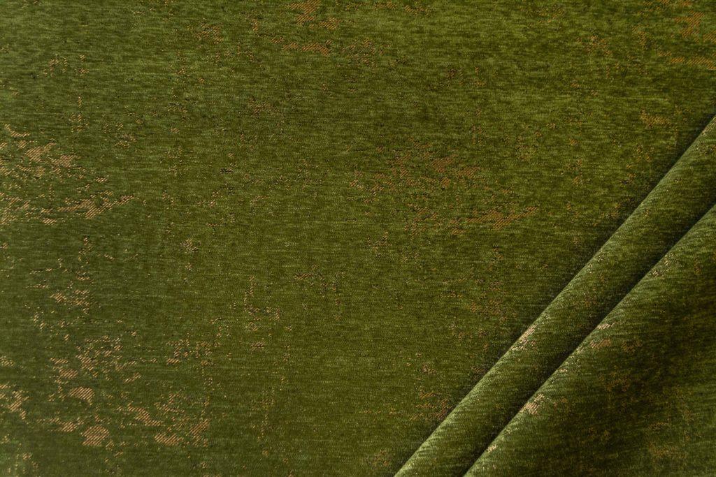 tessuto in microfibra graffiti colore verde