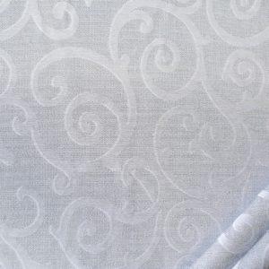 tessuto mano greggia ramage mx soave colore grigio perla