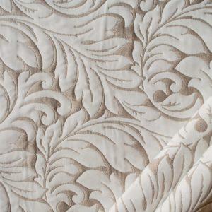 tessuto ramage con lurex mx donatella colore bianco