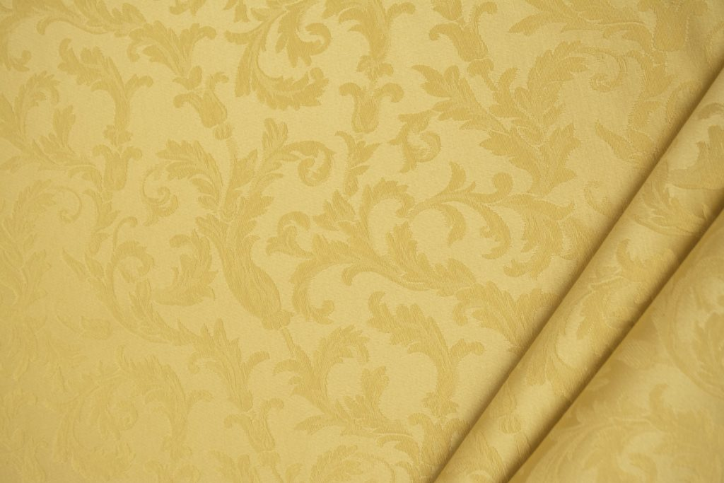 tessuto ramage elegante mx vanessa colore giallo