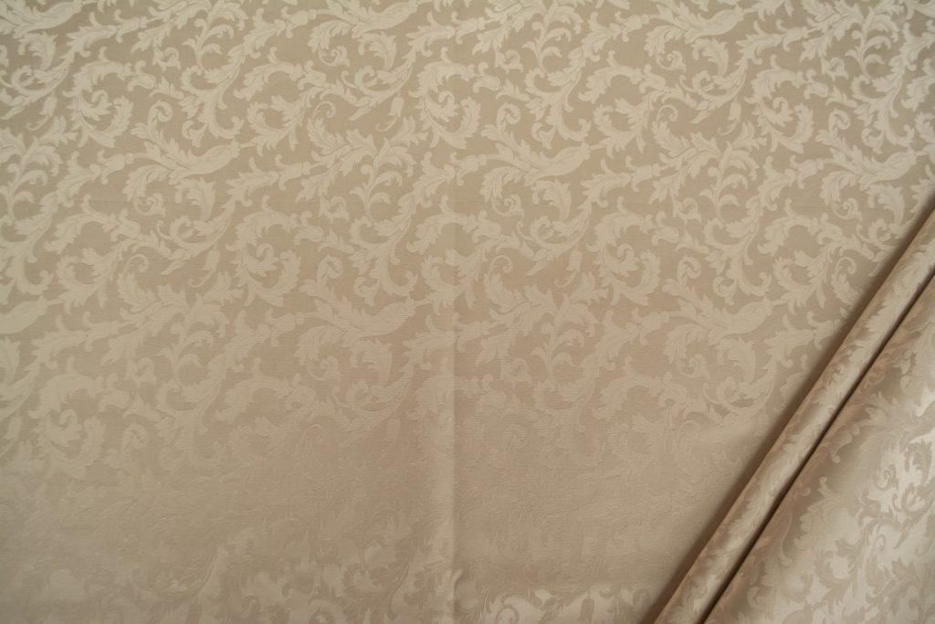 tessuto ramage elegante mx vanessa colore avorio