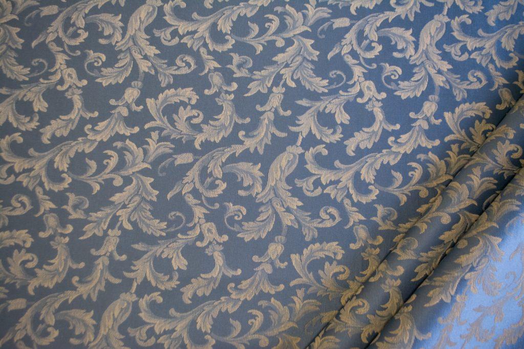 tessuto ramage elegante mx vanessa colore azzurro