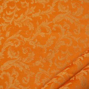 tessuto ramage elegante mx vanessa colore arancio