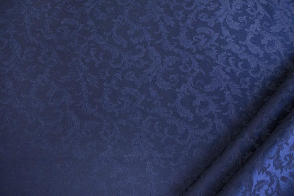 tessuto ramage elegante mx vanessa colore blu