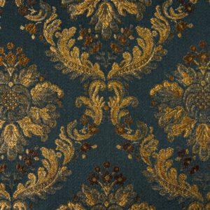 tessuto rasato elegante con lurex mx positano colore blu