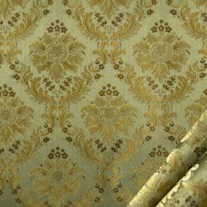tessuto rasato elegante con lurex mx positano colore verdino