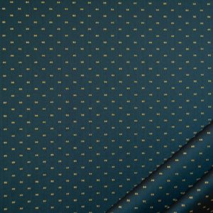 tessuto rasato ignifugo classe 1 elegante con puntino mx metropolis colore blu