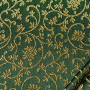 tessuto rasato ignifugo classe 1 elegante ramage mx metropolis verde