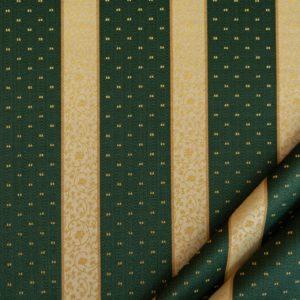 tessuto rasato ignifugo classe 1 elegante rigato con puntino mx metropolis colore verde