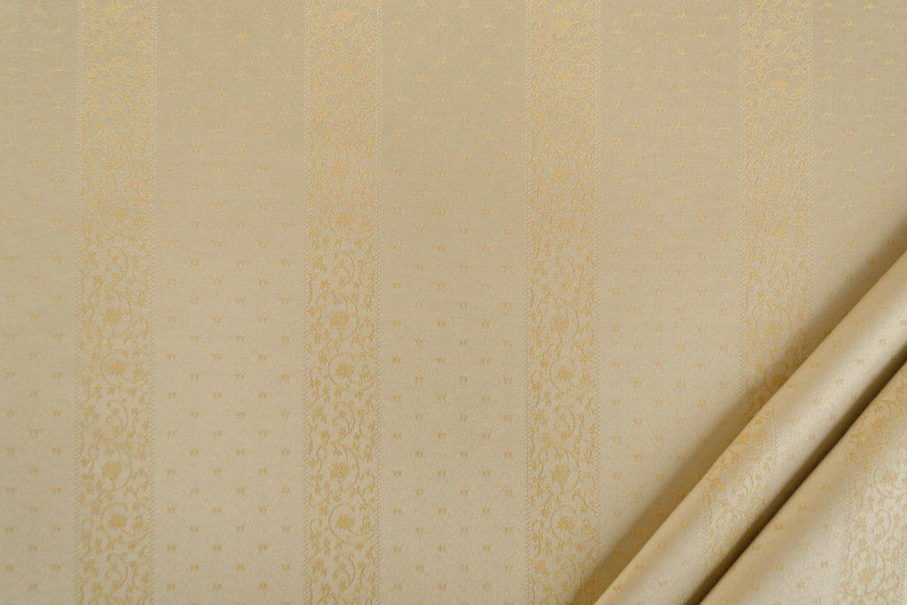 tessuto rasato ignifugo classe 1 elegante rigato con puntino mx metropolis colore beige