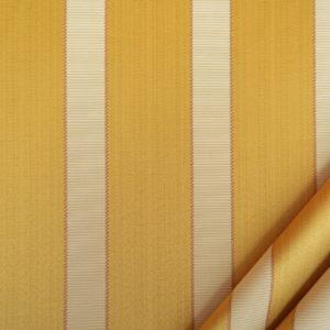 tessuto rasato ignifugo classe 1 elegante rigato mx metrolpolis colore oro