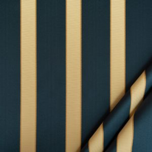 tessuto rasato ignifugo classe 1 elegante rigato mx metrolpolis colore blu