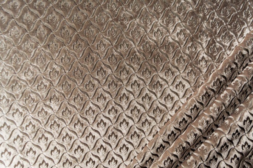 velluto elegante rombo mx caravaggio colore grigio perla